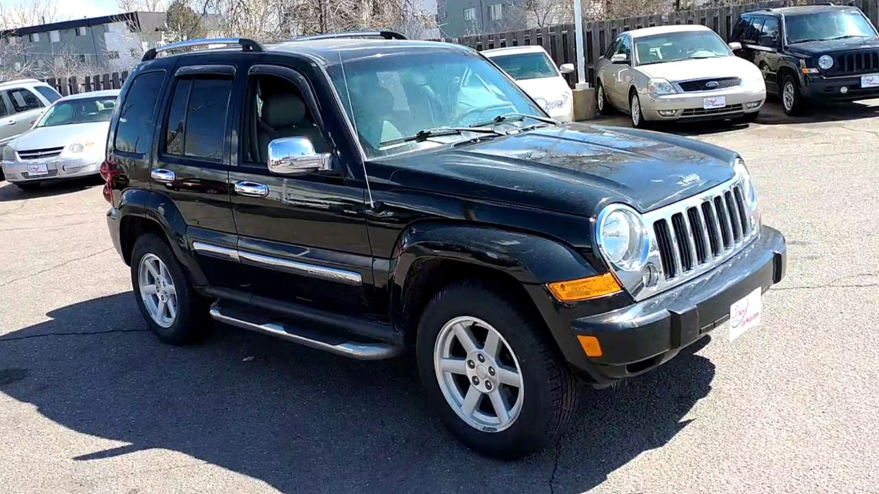 Pre-Owned 2007 JEEP LIBERTY Limited Ed