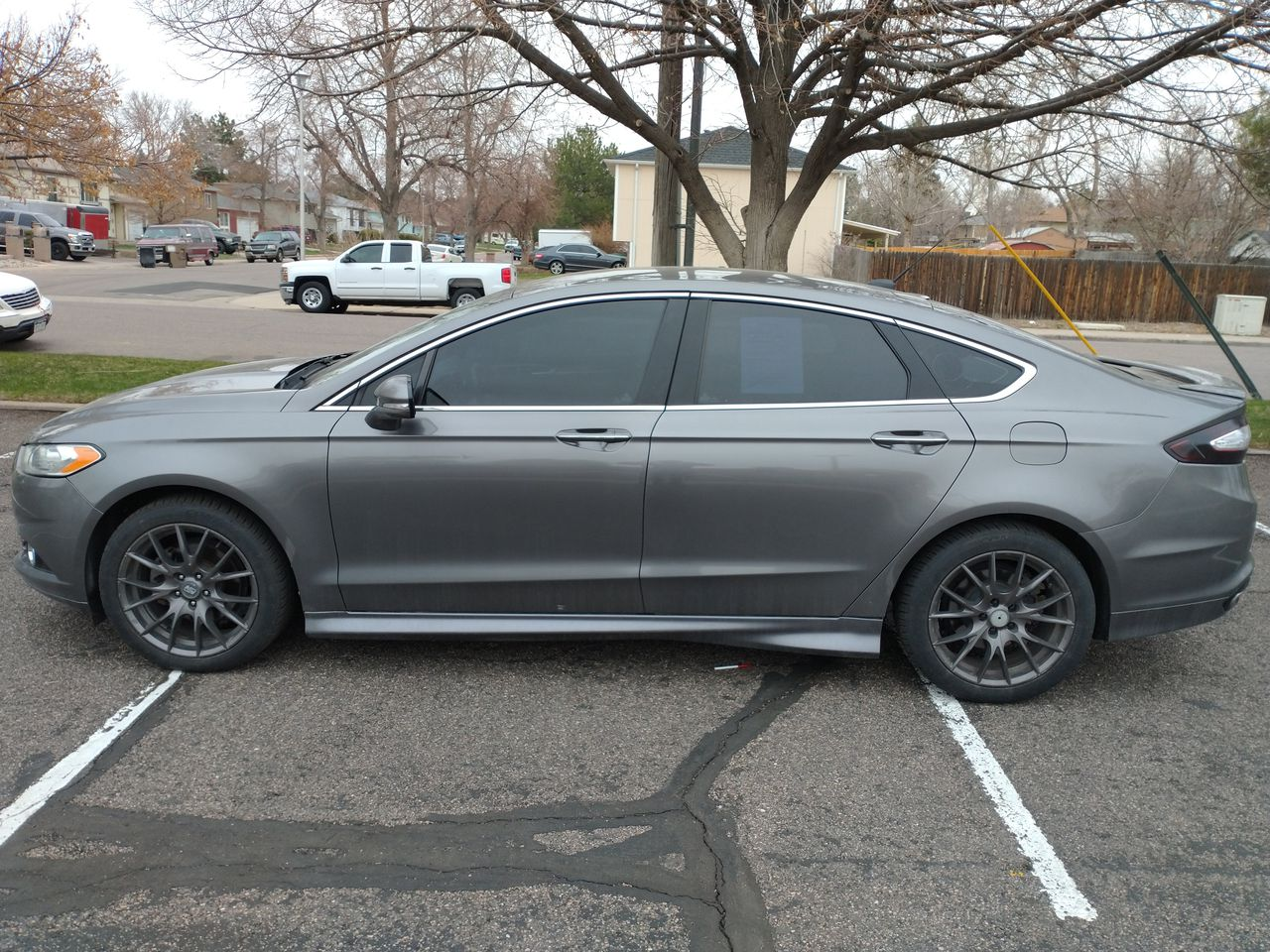 Pre-Owned 2013 FORD FUSION Titanium S