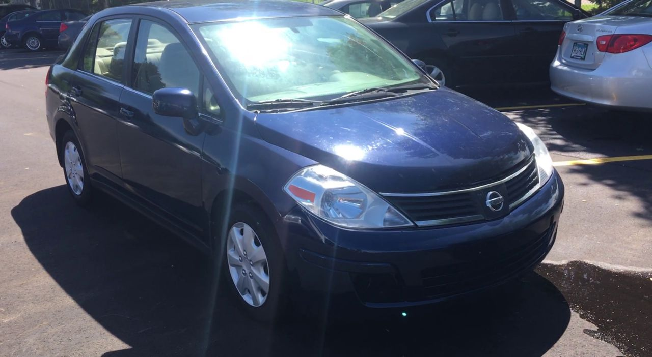 Pre-Owned 2008 NISSAN VERSA S Sedan 4D