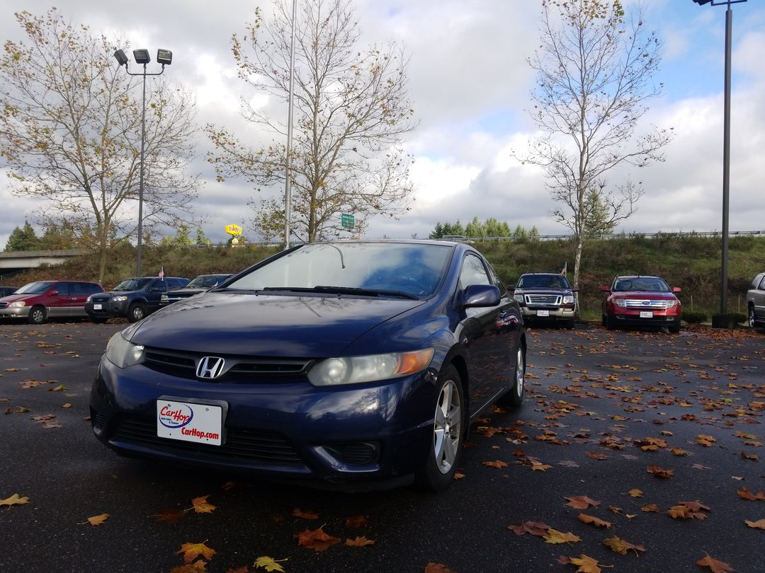 Pre-Owned 2007 Honda CIVIC EX Coupe 2