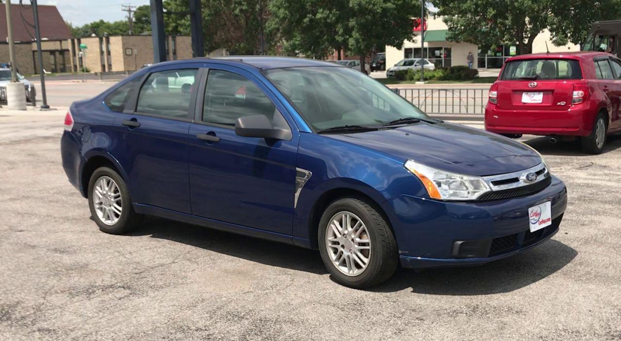 Pre-Owned 2008 FORD FOCUS SE Sedan 4
