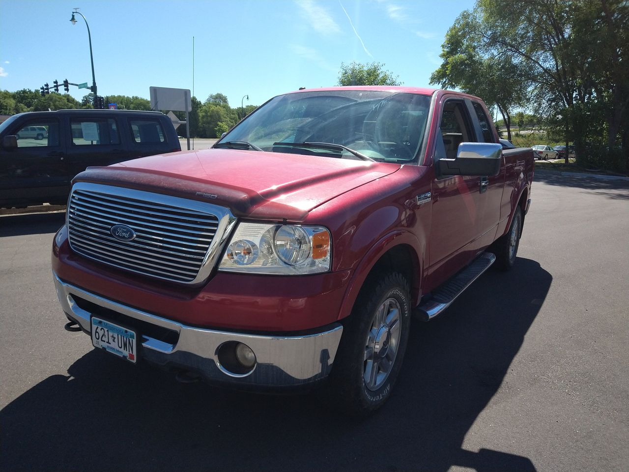 Pre-Owned 2008 FORD F150 XLT 6.5 FT