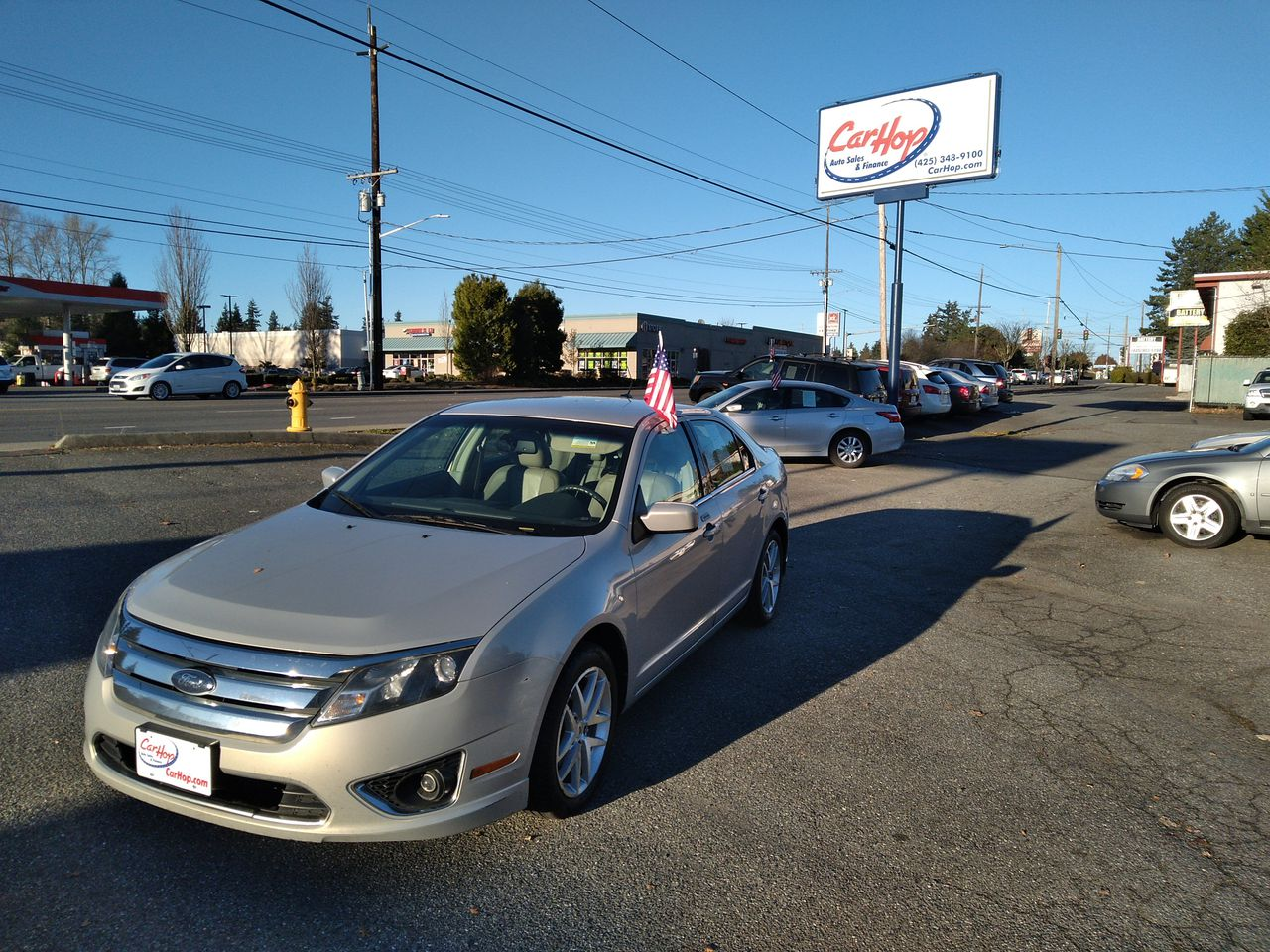 Pre-Owned 2010 FORD FUSION SEL Sedan