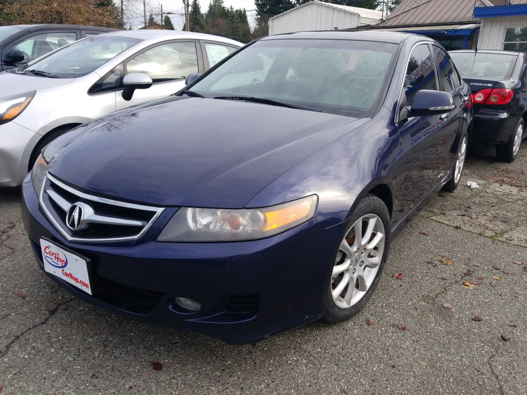 Pre-Owned 2006 Acura TSX Sedan 4D