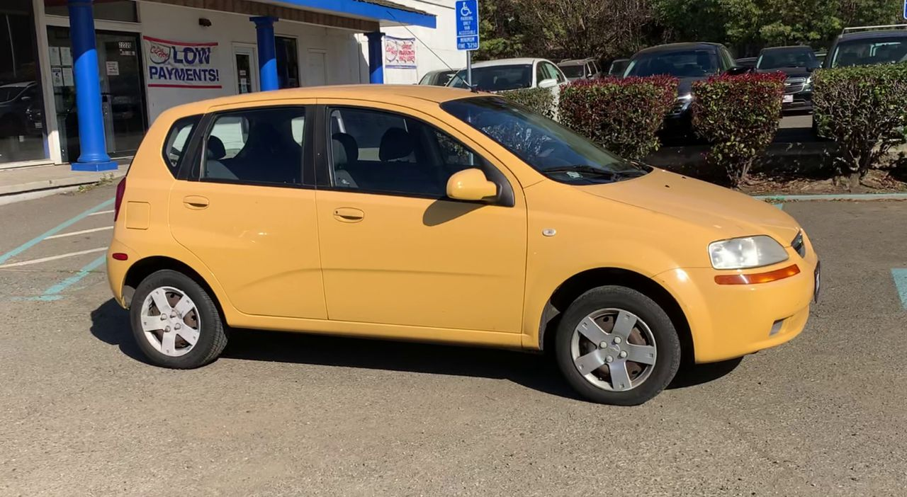 Pre-Owned 2006 CHEVROLET AVEO LS Hatchba