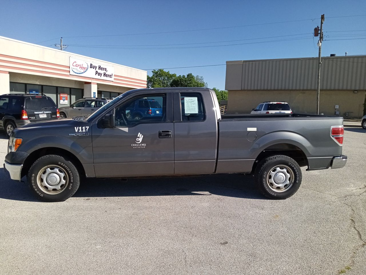 Pre-Owned 2011 FORD F150 XL