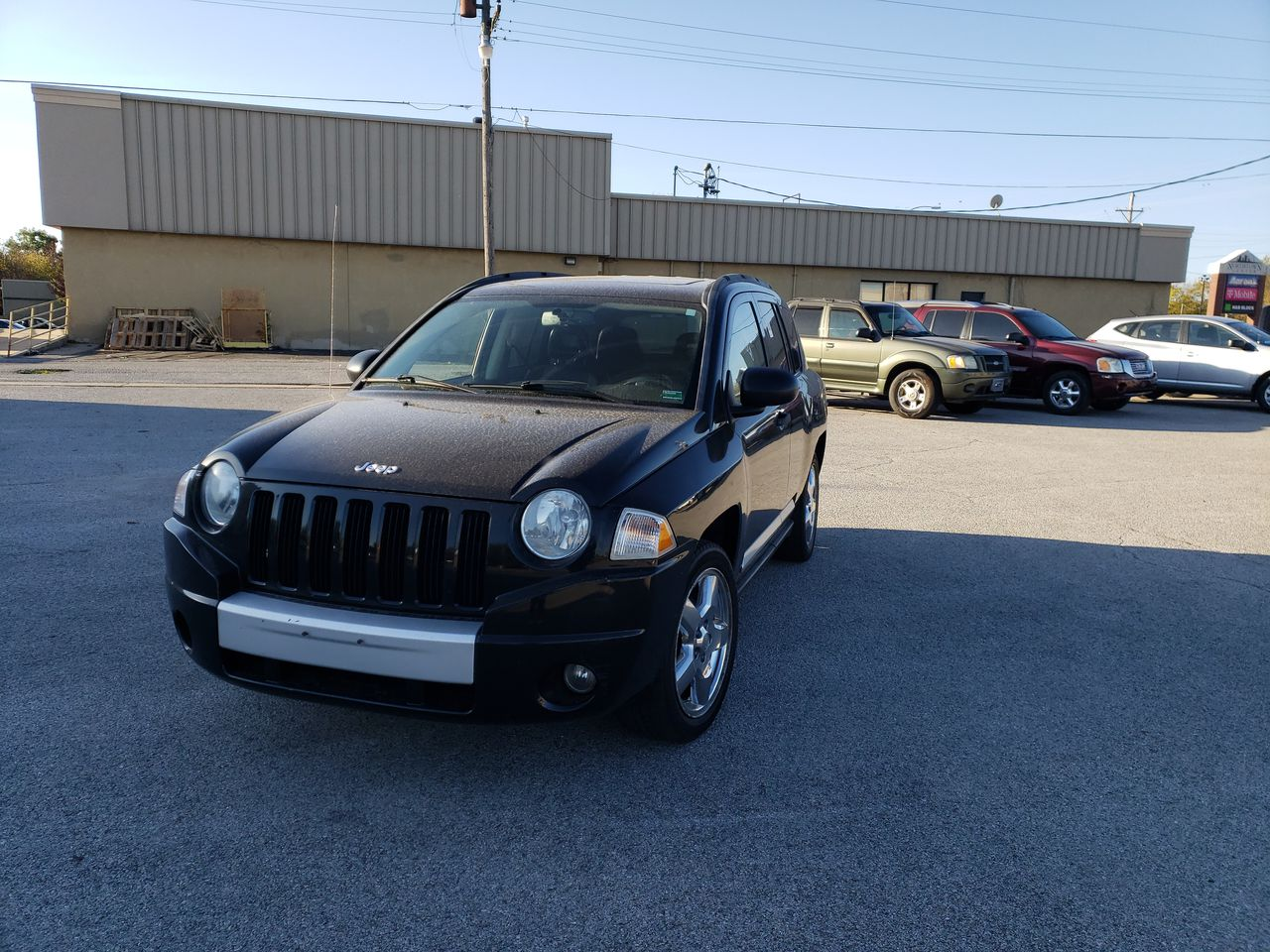 Pre-Owned 2008 JEEP COMPASS Limited Sp
