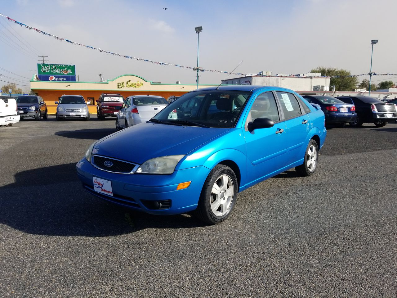 Pre-Owned 2007 FORD FOCUS SES Sedan