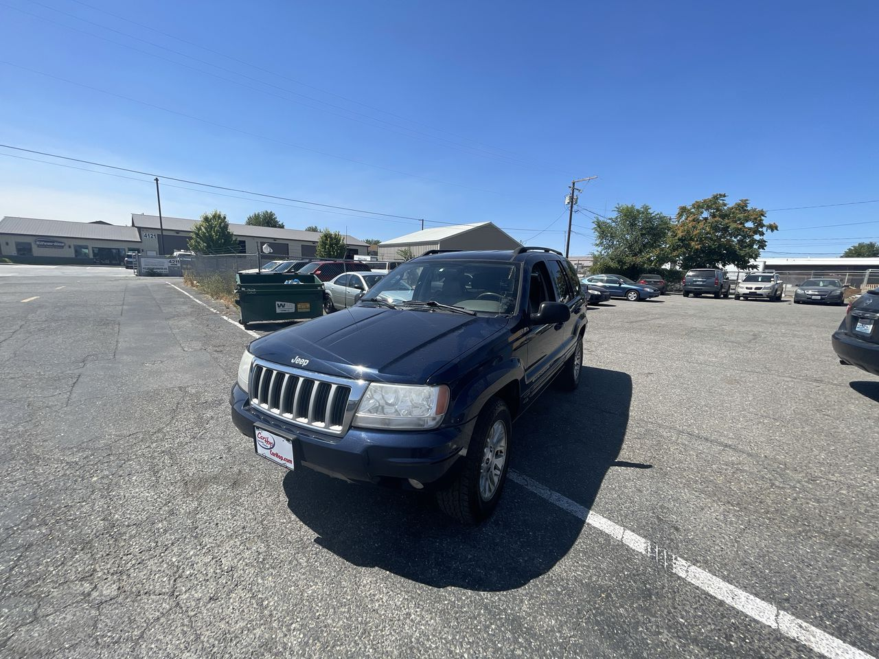 Pre-Owned 2004 JEEP GRAND CHEROKEE Limited Sp