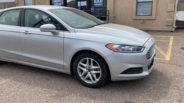 Pre-Owned 2016 FORD FUSION SE Sedan 4