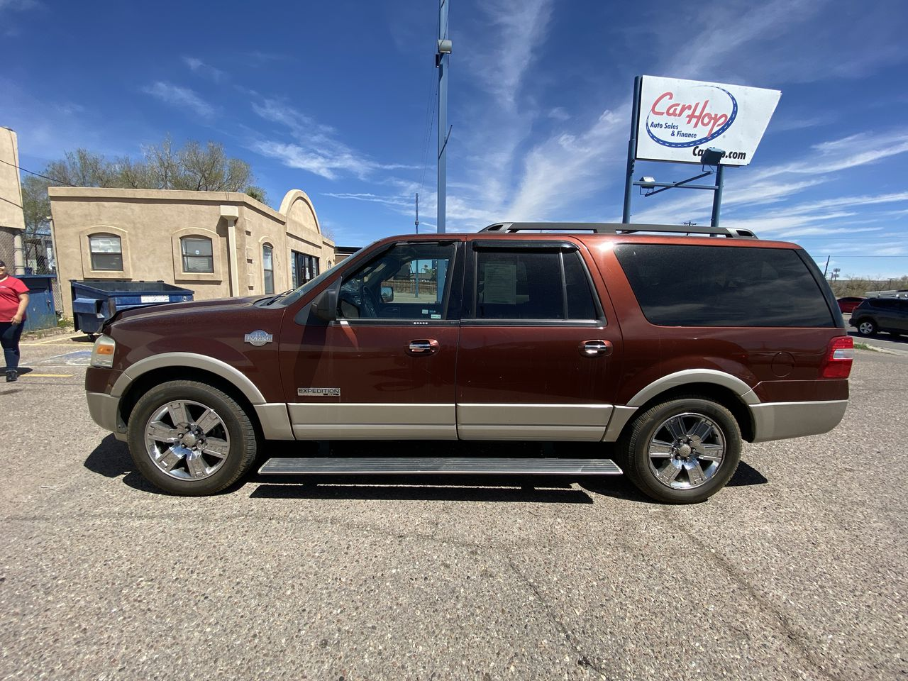 Pre-Owned 2008 FORD EXPEDITION EL KING RA