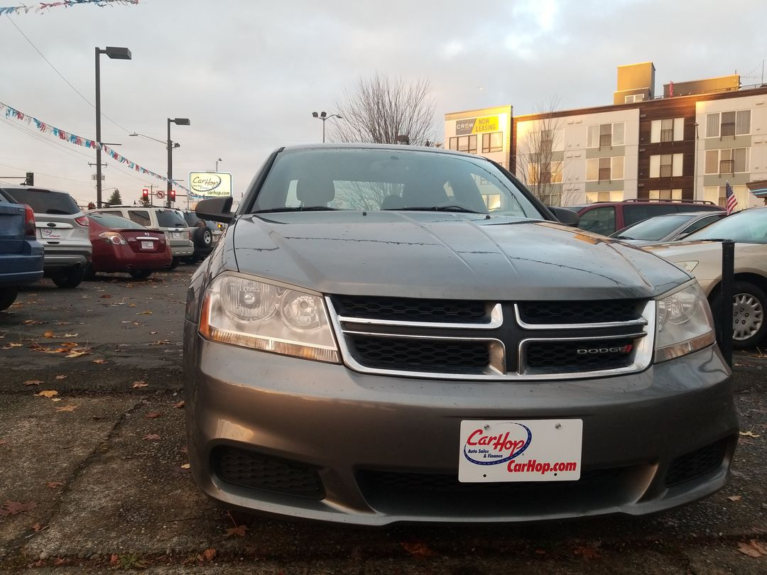Pre-Owned 2013 DODGE AVENGER SE Sedan 4