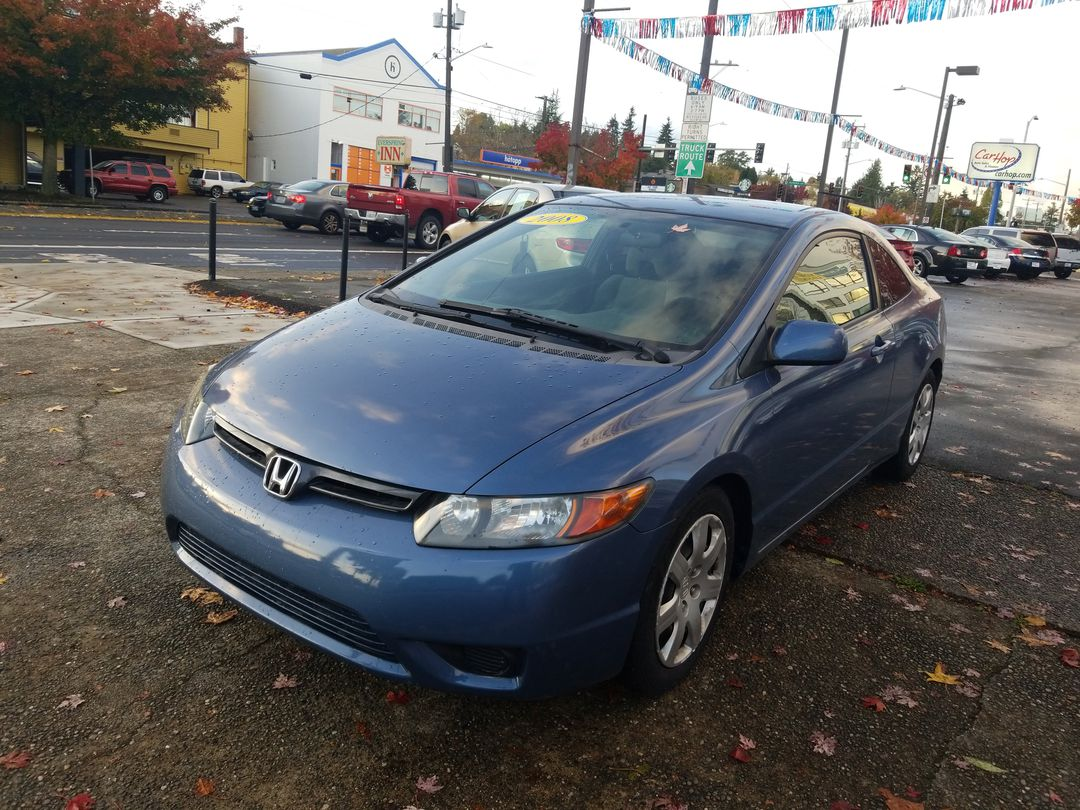 Pre-Owned 2008 Honda CIVIC LX COUPE 2