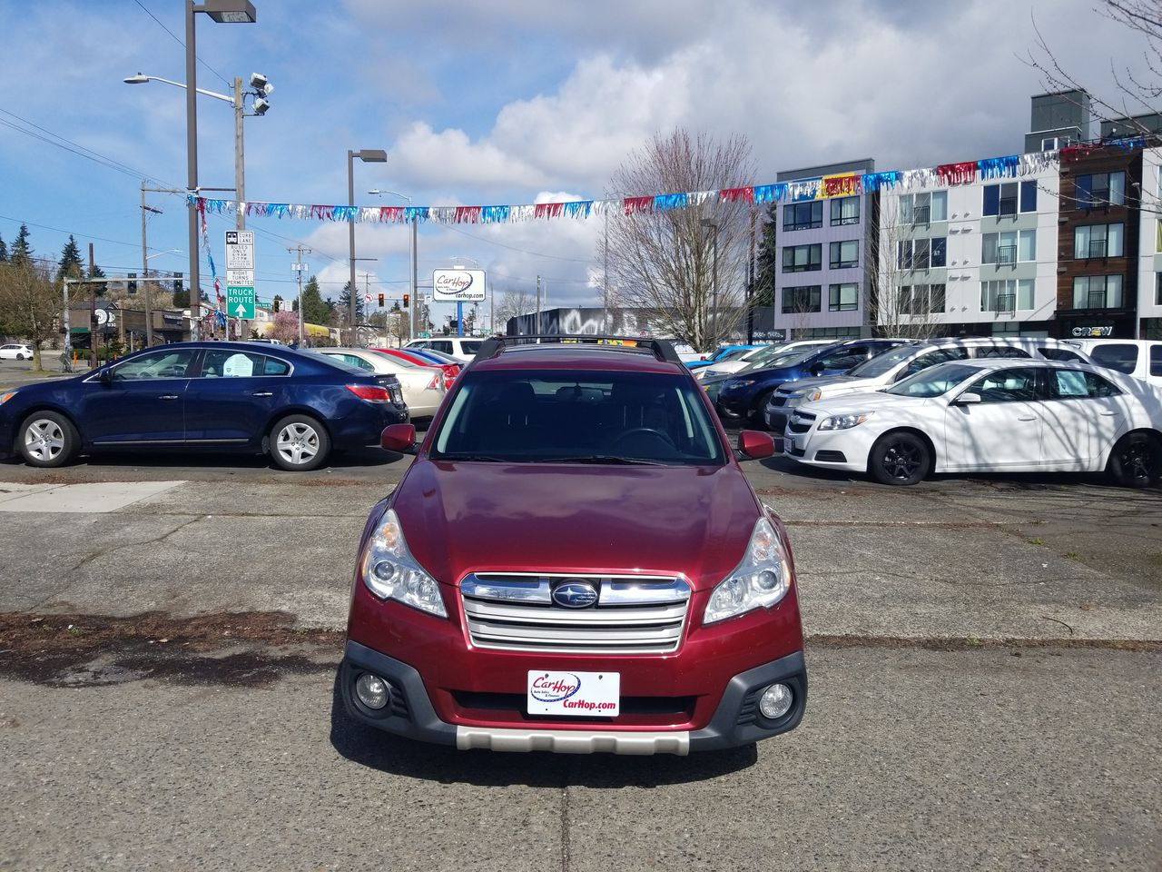 Pre-Owned 2013 SUBARU OUTBACK 2.5i Limit