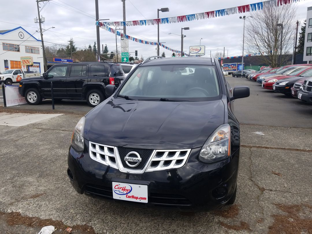 Pre-Owned 2015 NISSAN ROGUE S 2WD