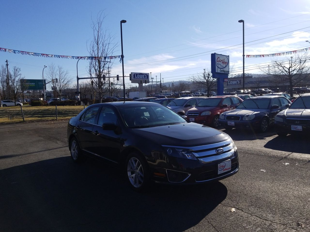 Pre-Owned 2011 FORD FUSION SEL Sedan