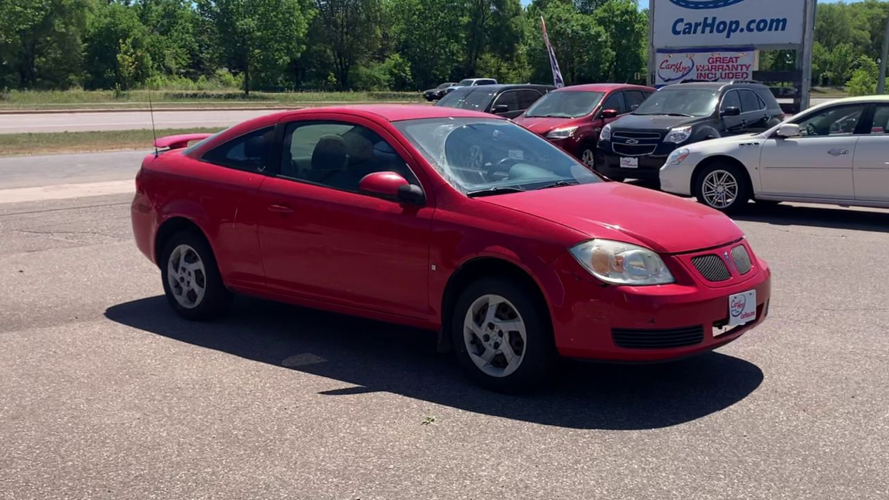 Pre-Owned 2008 PONTIAC G5 COUPE 2D