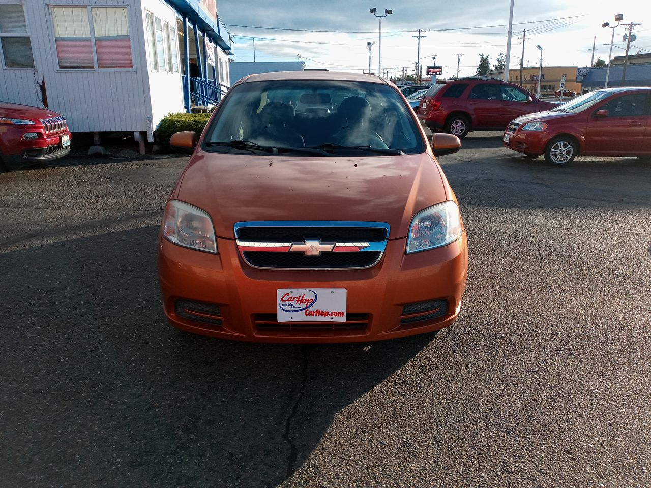 Pre-Owned 2007 CHEVROLET AVEO LS Sedan 4