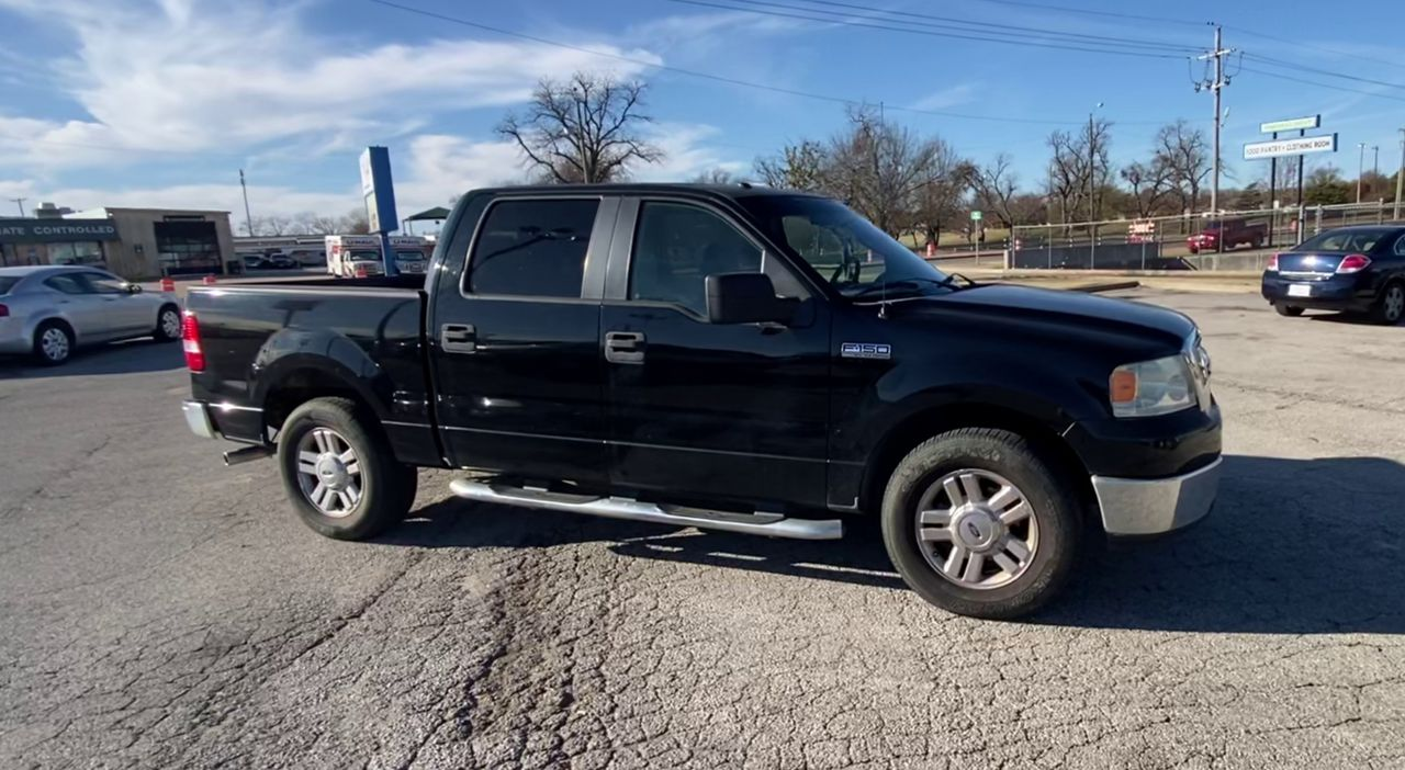 Pre-Owned 2008 FORD F150 XLT 5.5 BE