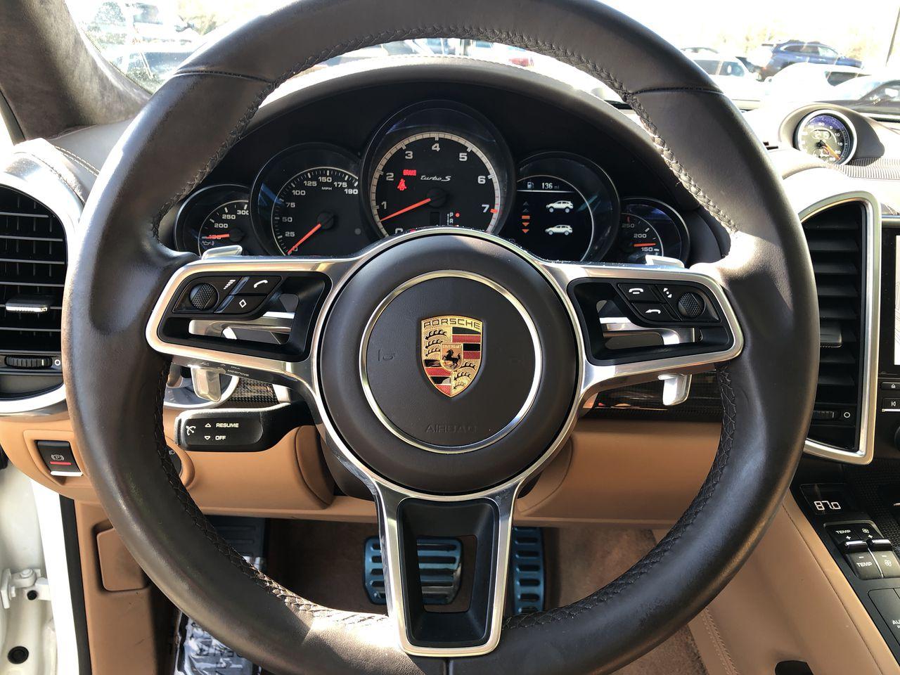Pre-Owned 2018 Porsche Cayenne Turbo S
