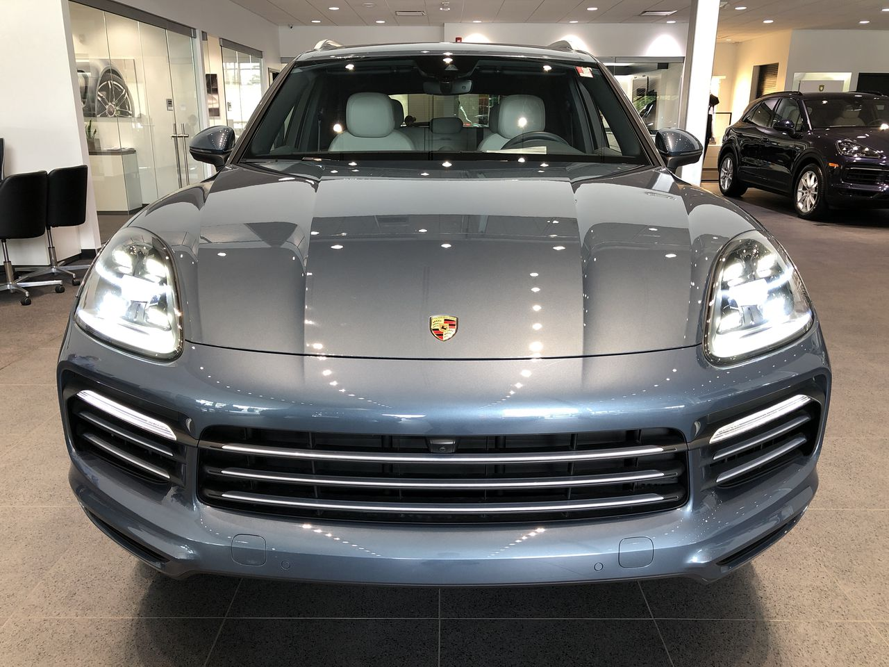 New 2019 Porsche Cayenne E-Hybrid- MSRP $106,330