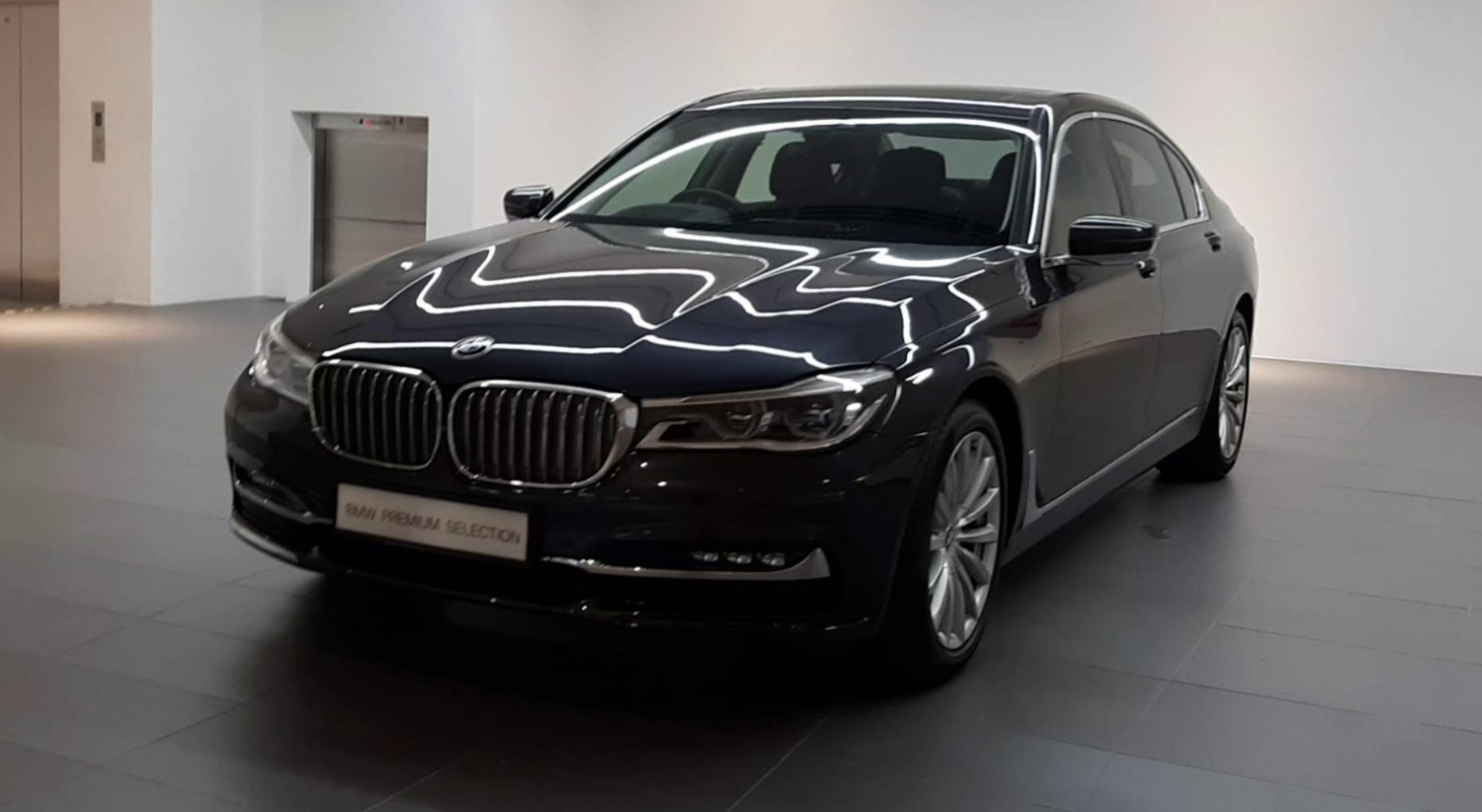 2016 BMW 730Li G12