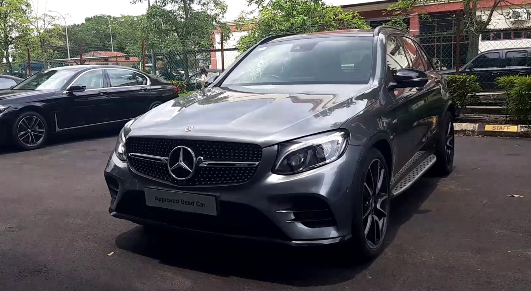 2018 Mercedes Benz GLC43 AMG