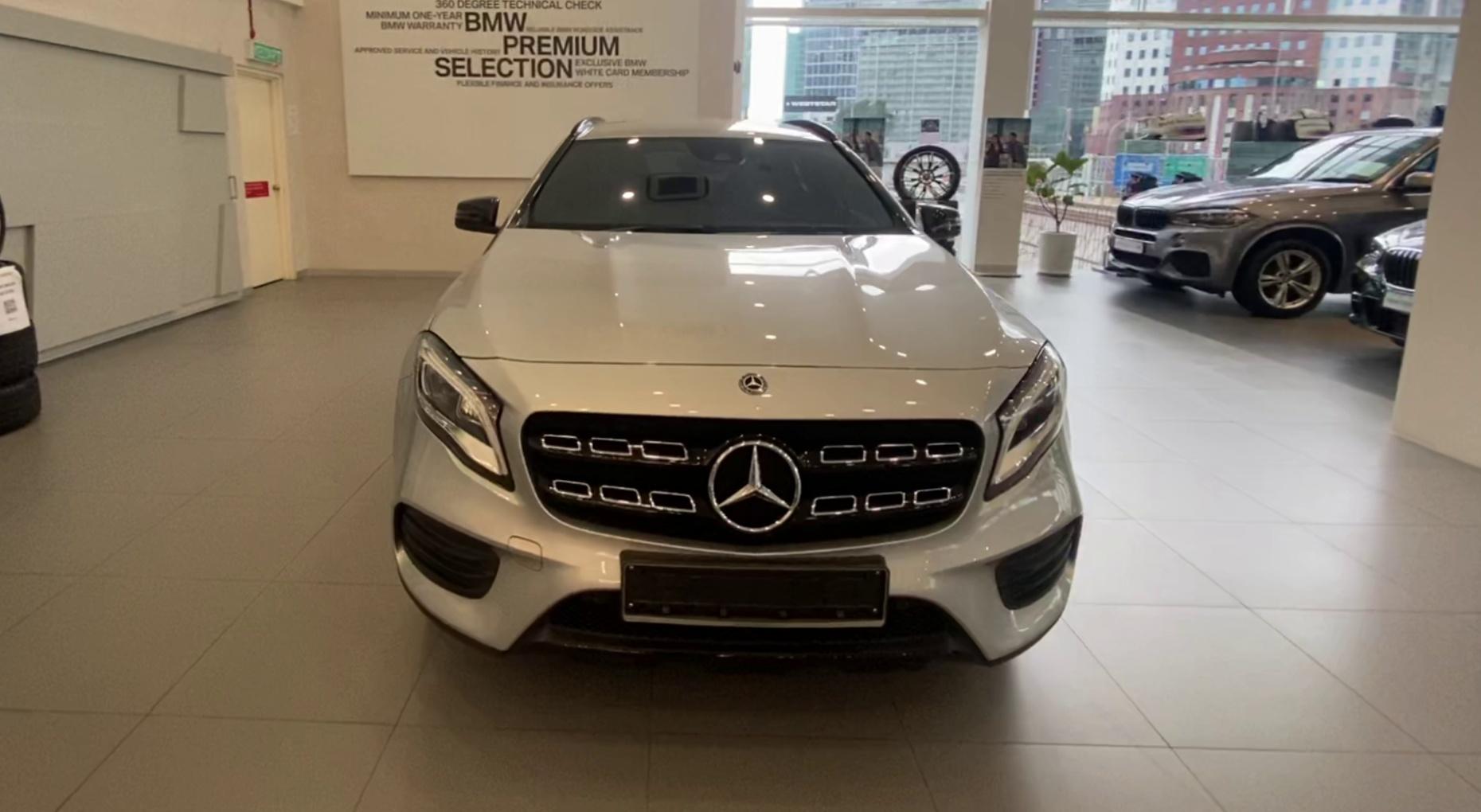 2017 Mercedes Benz GLA250