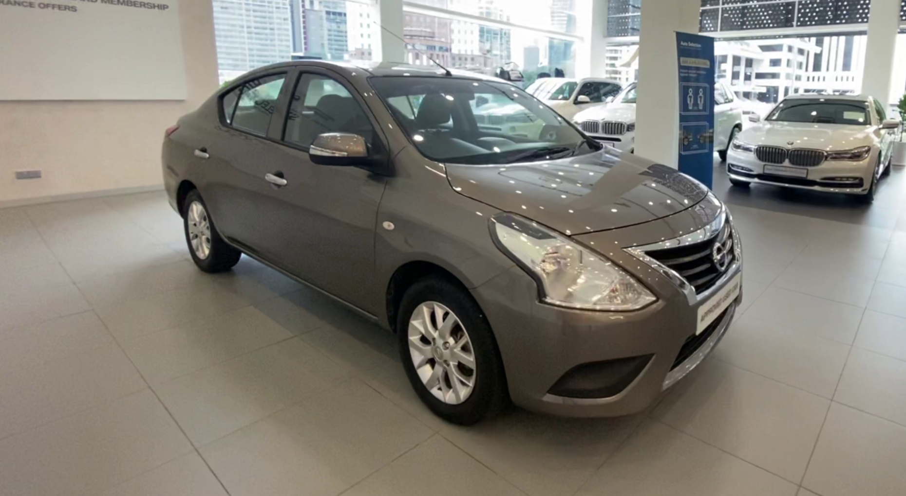 2015 Nissan Almera 1.5E AT