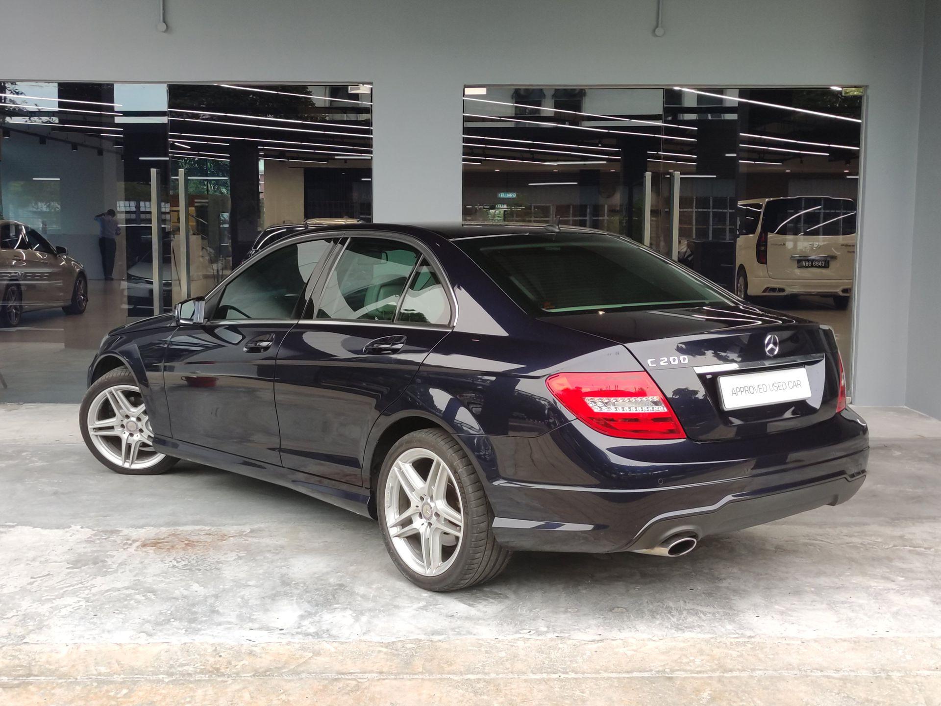 2014 Mercedes Benz C200 CGI-W204B