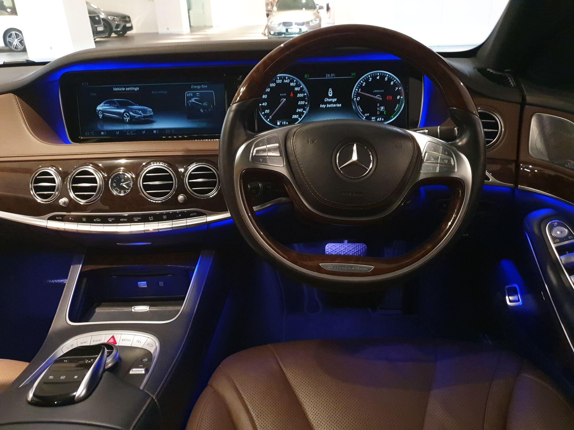 2015 Mercedes Benz S400L Hybrid