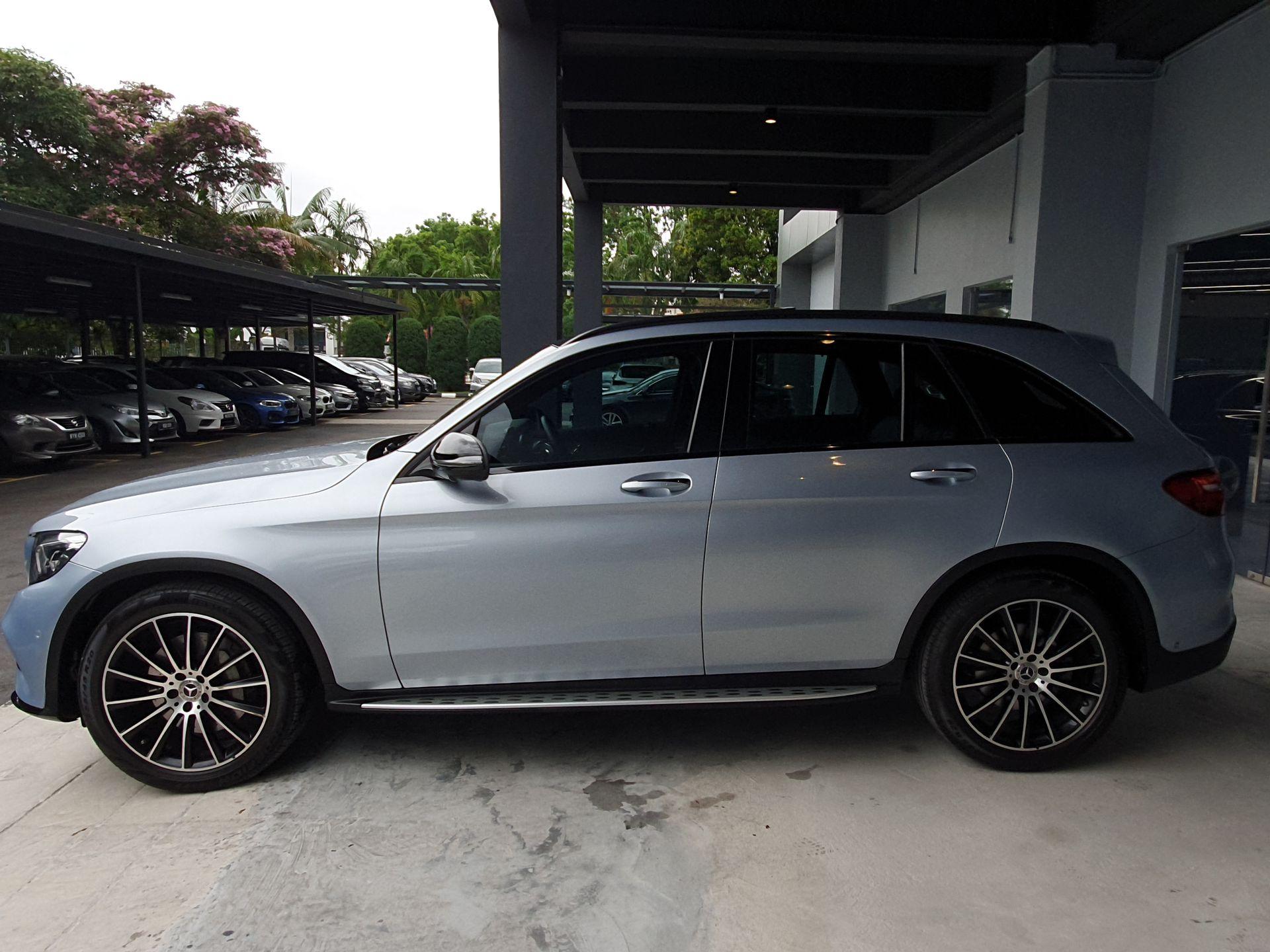 2018 Mercedes Benz GLC250 4M-X253