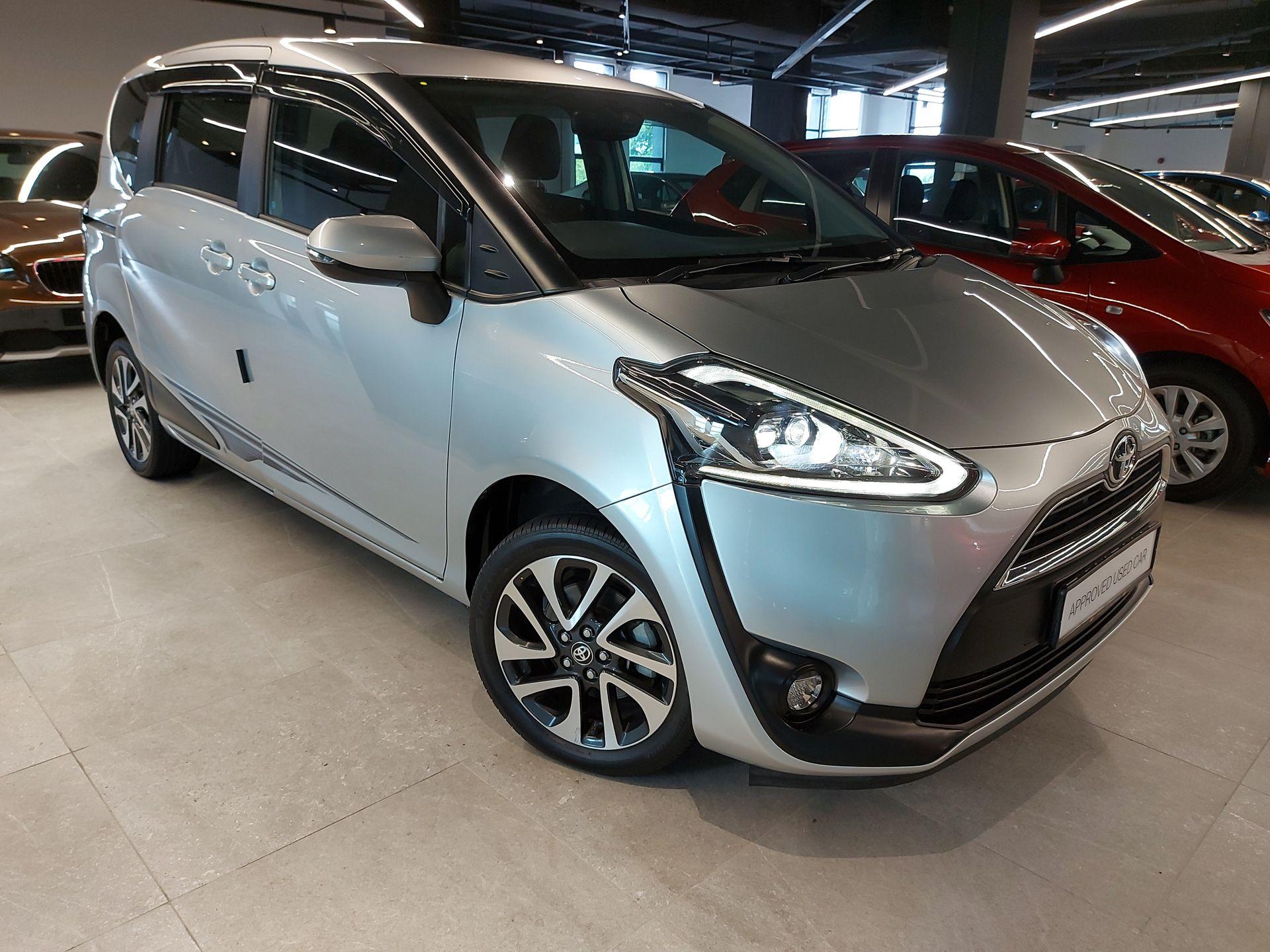 2017 Toyota Sienta 1.5V AT
