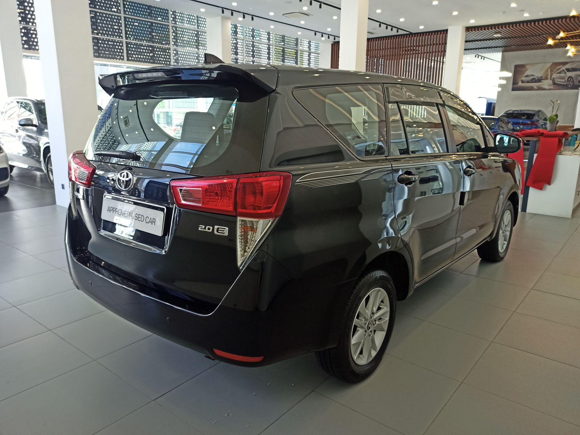 2018 Toyota Innova 2.0E AT