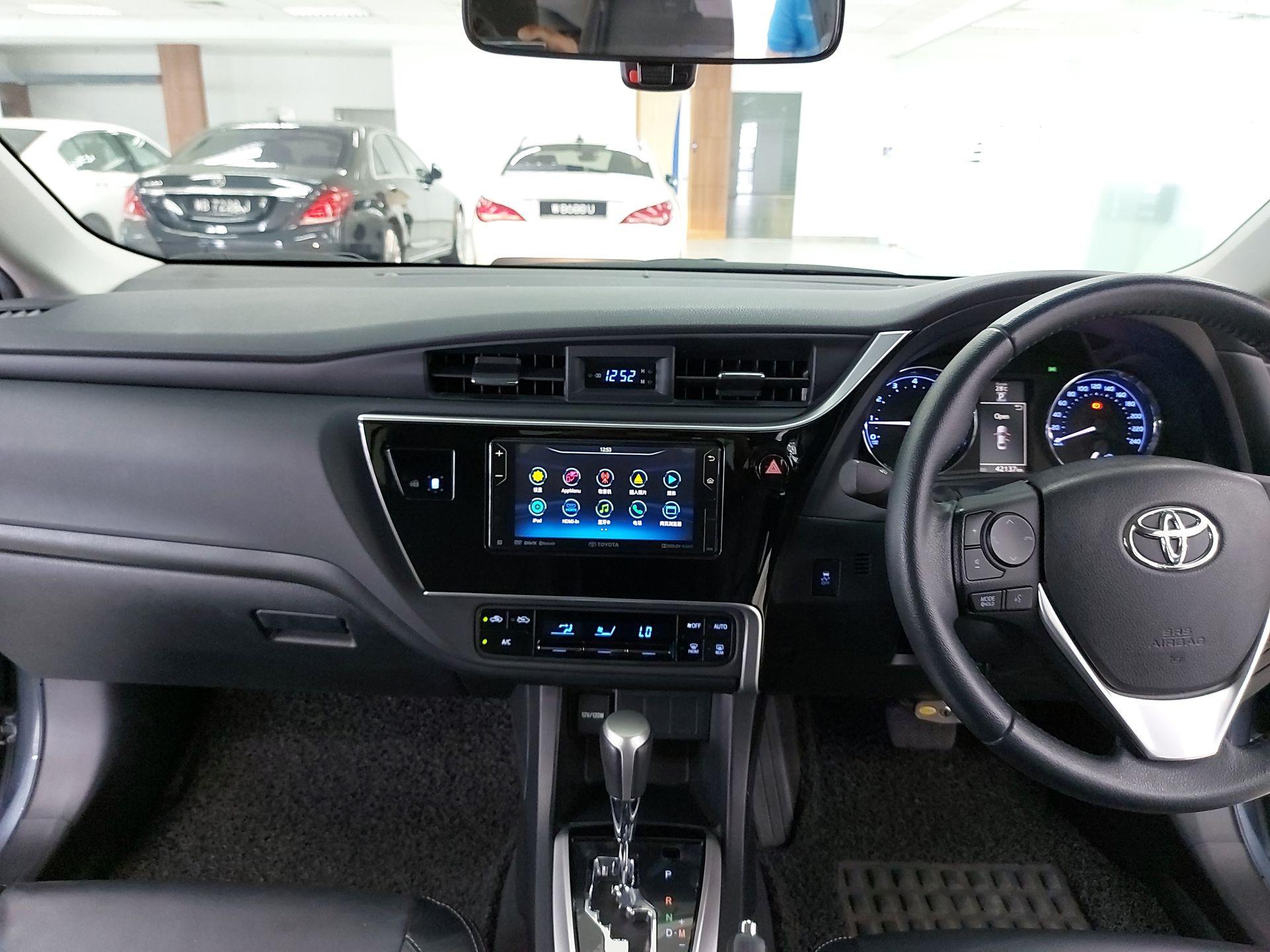 2019 Toyota Corolla Altis 1.8G