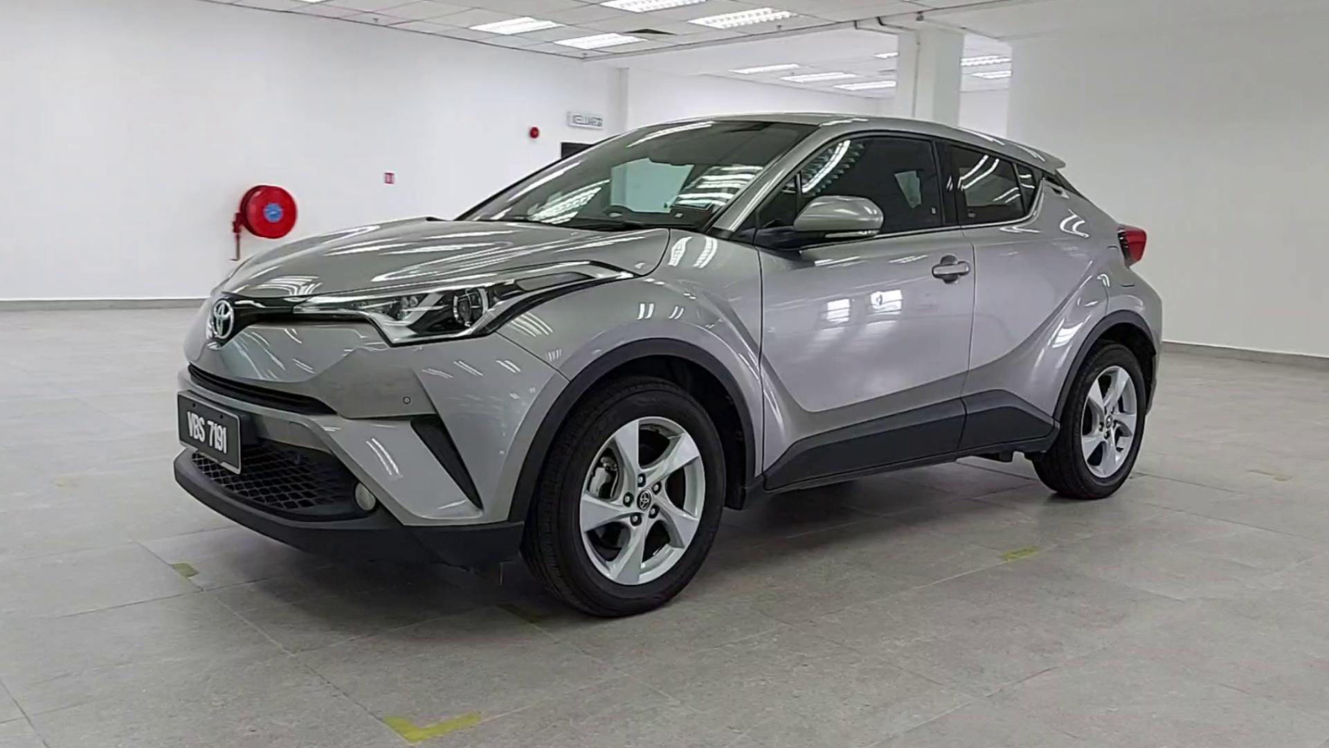 2018 Toyota C-HR 1.8L (A)