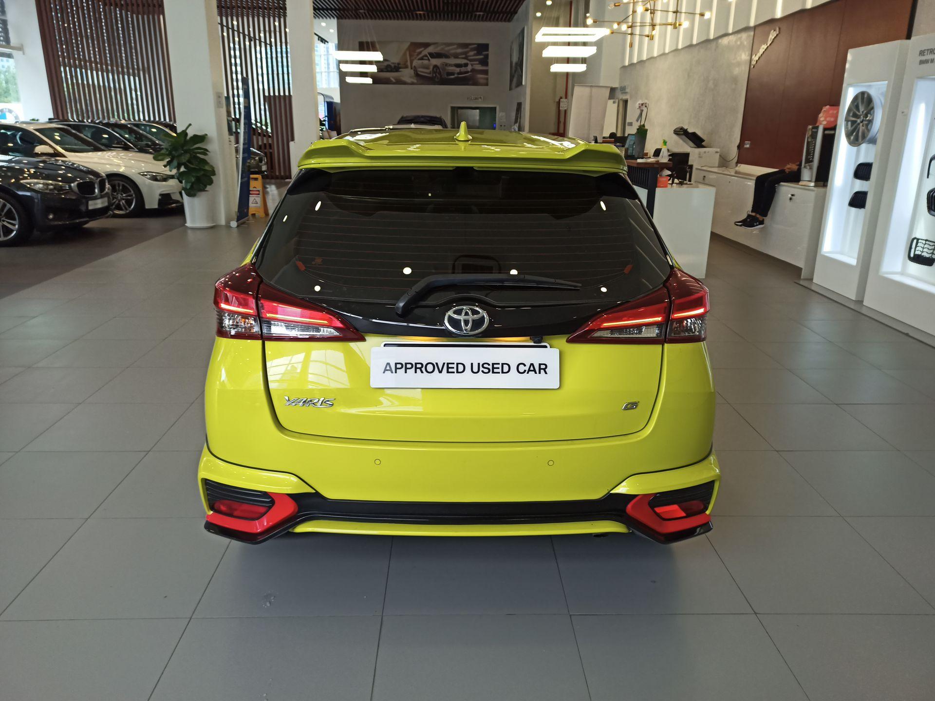 2019 Toyota Yaris 1.5G A/T