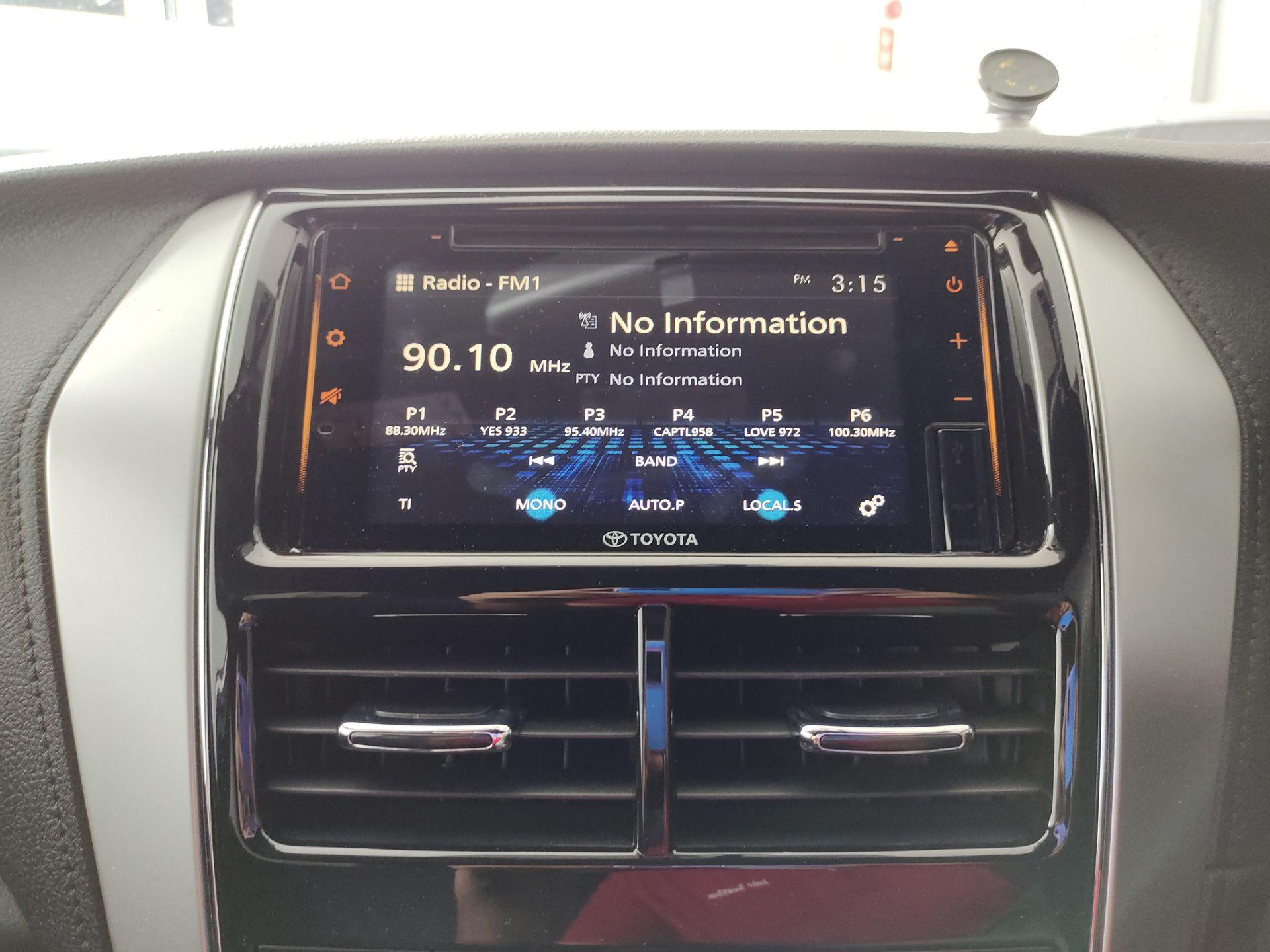 2020 Toyota Yaris 1.5E A/T