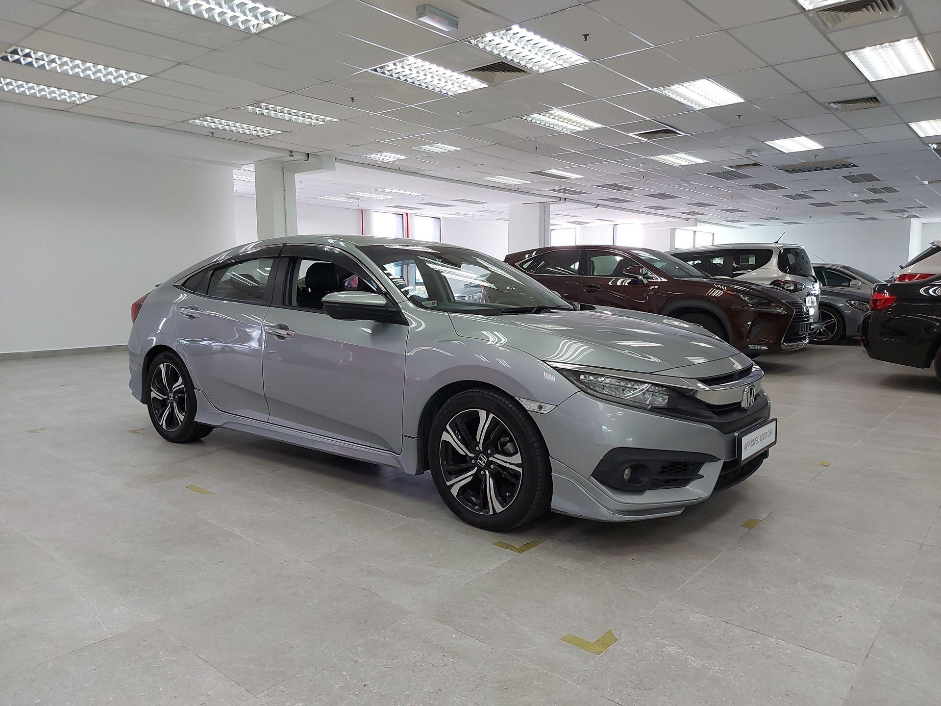 2017 Honda Civic 1.5 TC-P