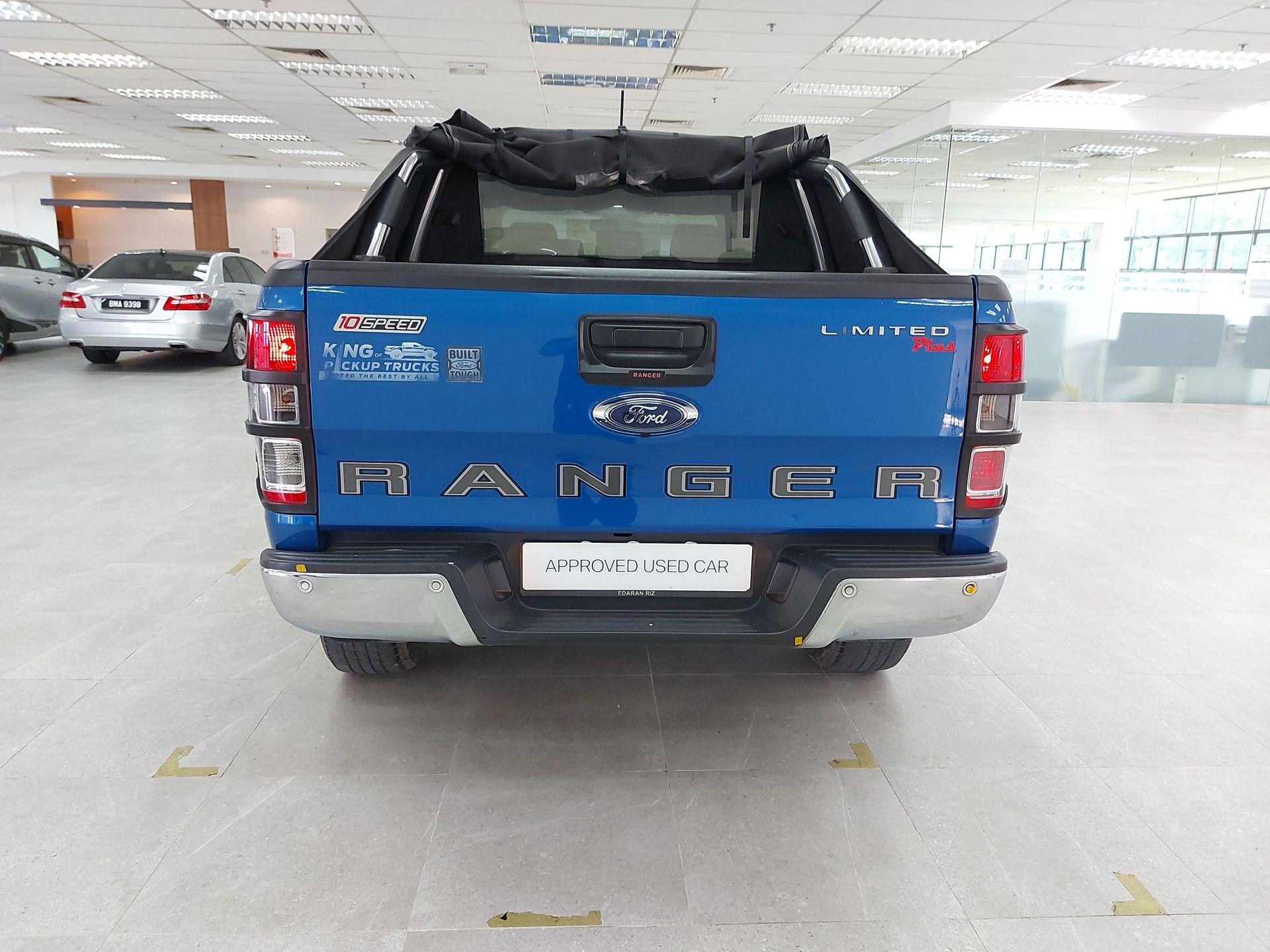 2019 Ford Ranger 2.0L XLT + 4WD AT