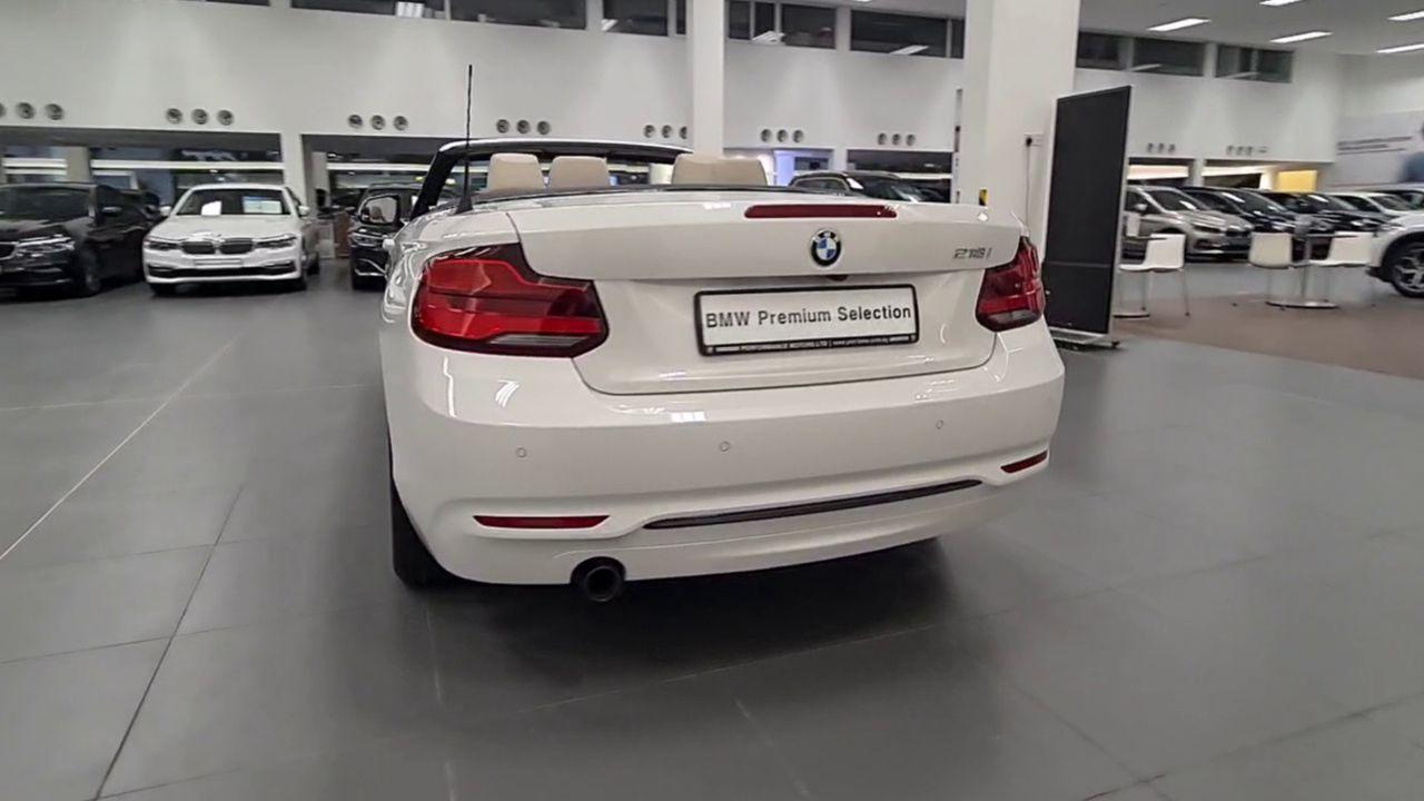 BMW 218i Convertible Sport